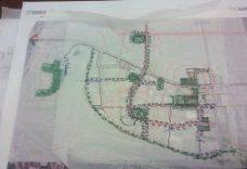 Photograph of City Workshop Map (Soure: R.E. Millward + Associates)