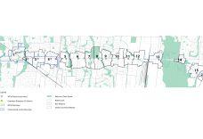 Queen Street Corridor Preliminary MTSA Base Map (Source: R. E. Millward + Associates)