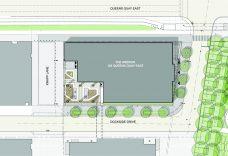 Rendered Landscape Concept Plan (Source: Brook McIlroy)