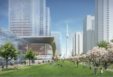 Proposed Development Concept, Park Level View (Source: Sweeny & Co Architects)