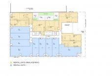 Rental Replacement Floor Plan (Source: RAW Design)