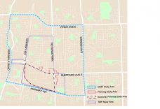 Map of Study Area Boundaries (Source: R.E. Millward + Associates)