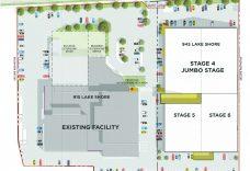 Conceptual Studio City Site Plan (Source: RAW Design)
